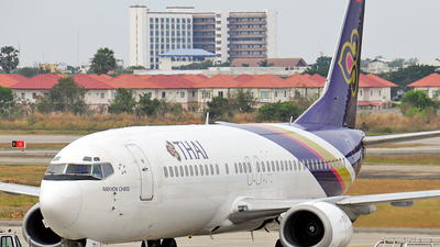 HS-TDJ - Boeing 737-4D7 - Thai Airways International