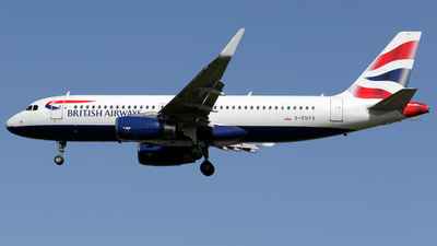 G-EUYV - Airbus A320-232 - British Airways