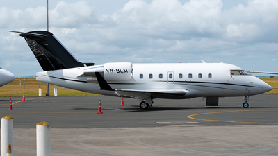 VH-BLM - Bombardier CL-600-2B16 Challenger 604 - ExecuJet Aviation