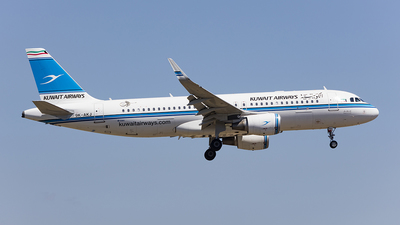 9K-AKJ - Airbus A320-214 - Kuwait Airways