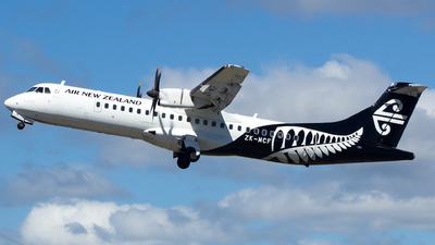 ZK-MCF - ATR 72-212A(500) - Air New Zealand