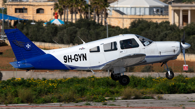A picture of 9HGYN - Piper PA28161 Cherokee Warrior II - [288116204] - © Jonathan Mifsud
