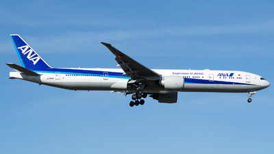 A picture of JA784A - Boeing 777381(ER) - All Nippon Airways - © Stefan Bayer