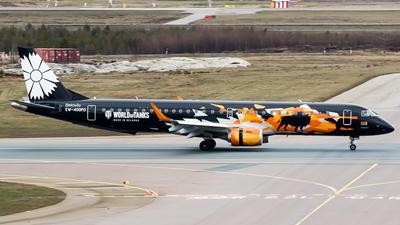 A picture of EW400PO - Embraer E195LR - Belavia - © Teemu Pesonen
