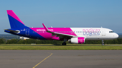 A picture of HALWU - Airbus A320232 - Wizz Air - © Tjorve. Henzler