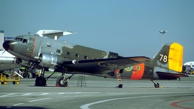 79008 - Douglas C-47B Skytrain - Sweden - Air Force