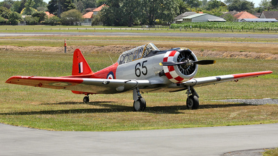 ZK-ENF - North American Harvard 3 - Private