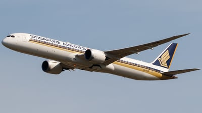 9V-SCM - Boeing 787-10 Dreamliner - Singapore Airlines