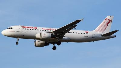 TS-INM - Airbus A320-211 - Tunisair