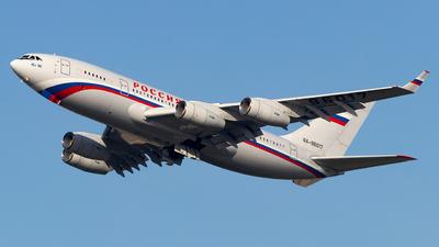 RA-96017 - Ilyushin IL-96-300 - Rossiya - Special Flight Squadron