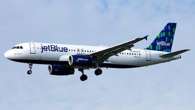 N634JB - Airbus A320-232 - jetBlue Airways