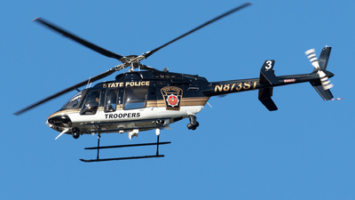 N873ST - Bell 407GX - United States - Pennsylvania State Police