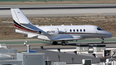 N547QS - Cessna Citation Latitude - NetJets Aviation