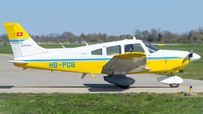 A picture of HBPGB - Piper PA28181 - [288190142] - © Pascal Ackermann
