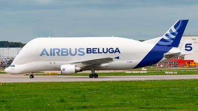 A picture of FGSTF - Airbus A300608ST Beluga - Airbus Transport International - © Laszlo Fekete