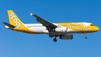 9V-TRP - Airbus A320-232 - Scoot