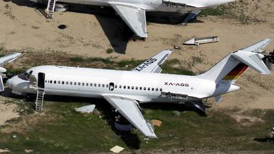 XA-AGS - McDonnell Douglas DC-9-15 - Aero California