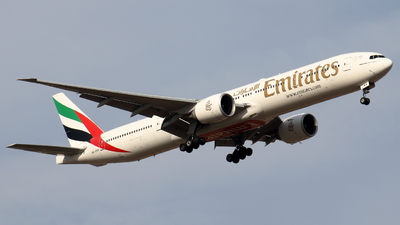 A picture of A6ENX - Boeing 77731H(ER) - Emirates - © Sander in West-Africa