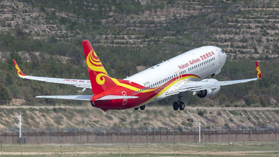 A picture of B7173 - Boeing 73786N - Hainan Airlines - © Eric Wang