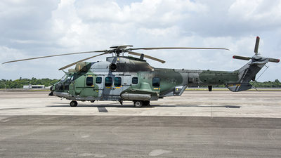 A picture of FAB8517 - Airbus Helicopters H225 -  - © Leonardo Carvalho