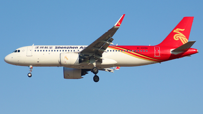 A picture of B309Q - Airbus A320271N - Shenzhen Airlines - © Zhu Tengrui