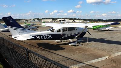 N22CS - Cessna T206H Turbo Stationair HD - Private