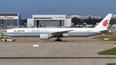 A picture of B2045 - Boeing 77739L(ER) - Air China - © JJ Wang