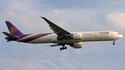 HS-TKQ - Boeing 777-3ALER - Thai Airways International