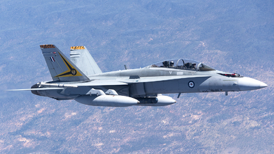 A21-109 - McDonnell Douglas F/A-18B Hornet - Australia - Royal Australian Air Force (RAAF)