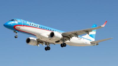 LV-CPK - Embraer 190-100IGW - Aerolíneas Argentinas