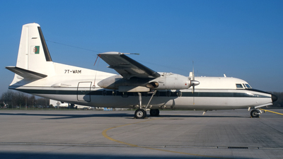 7T-WAM - Fokker F27-400M Troopship - Algeria - Air Force