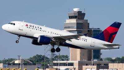 N331NB - Airbus A319-114 - Delta Air Lines