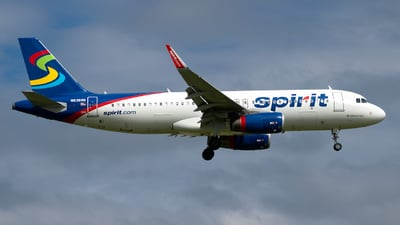 A picture of N636NK - Airbus A320232 - Spirit Airlines - © Davis Dore