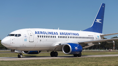 LV-BYY - Boeing 737-7BD - Aerolíneas Argentinas