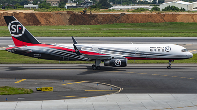 A picture of B1145 - Boeing 7572B7(PCF) - SF Airlines - © Chao Aviation