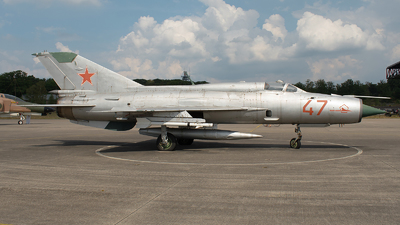 47 - Mikoyan-Gurevich MiG-21PFM Fishbed - Soviet Union - Air Force
