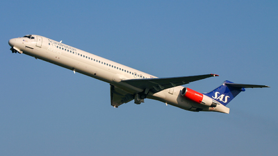 OY-KGY - McDonnell Douglas MD-81 - Scandinavian Airlines (SAS)