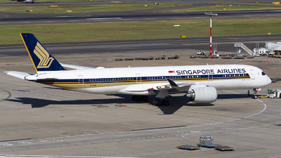 A picture of 9VSMG - Airbus A350941 - Singapore Airlines - © MQ1131
