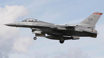 91-0343 - General Dynamics F-16CJ Fighting Falcon - United States - US Air Force (USAF)