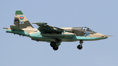 25 - Sukhoi Su-25BM Frogfoot - Azerbaijan - Air Force