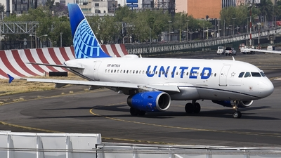 N878UA - Airbus A319-132 - United Airlines