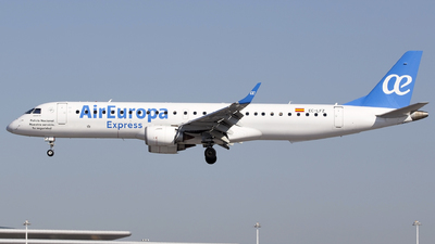 A picture of ECLFZ - Embraer E195LR - Air Europa - © José Ferraz