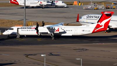 A picture of VHLQG - De Havilland Canada Dash 8400 - Qantas - © Brandon Giacomin