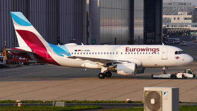 A picture of DAKNN - Airbus A319112 - Eurowings - © Yannick Schreiber