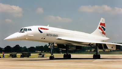 G-BOAF - Aérospatiale/British Aircraft Corporation Concorde - British Airways