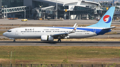 A picture of B1560 - Boeing 7378LW - Hebei Airlines - © Johnny_Tian