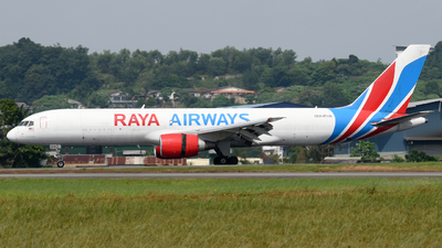 9M-RYA - Boeing 757-26D(PCF) - Raya Airways