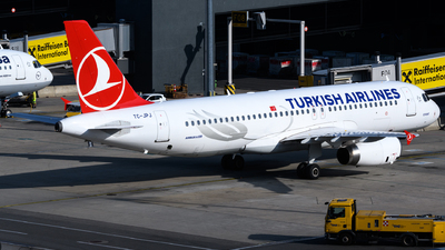 A picture of TCJPJ - Airbus A320232 - Turkish Airlines - © Chris Jilli