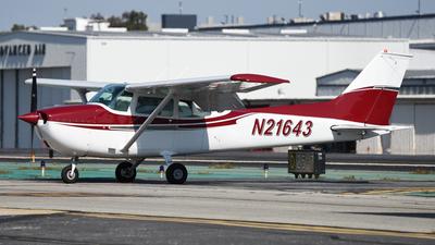 N21643 - Cessna 172M Skyhawk - Private