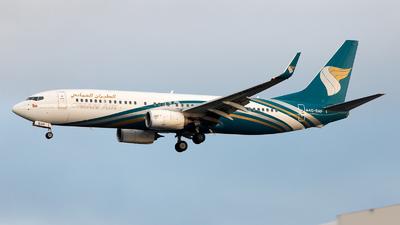 A4O-BAF - Boeing 737-8SH - Oman Air